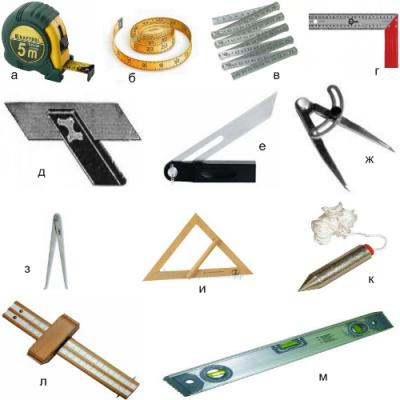 Інструменти для точного виконання замірів місця для вбудованої шафи купе!