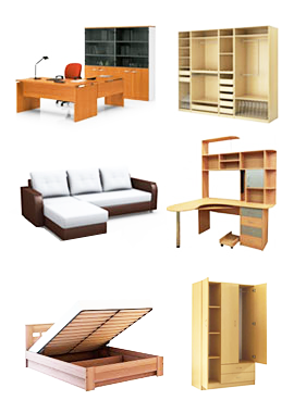 Меблі Львів. Корпусні меблі. Шафи, ліжка, дивани, столи, прихожі.